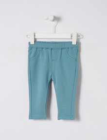 Teeny Weeny Fleece Jegging, Blue product photo