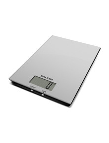 Salter Ultra Slim Glass Scale, White, 5kg product photo