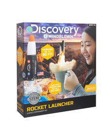 Discovery #Mindblown Rocket Launcher Science Experiment Kit product photo