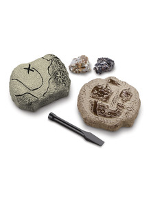 Discovery #Mindblown Toy Excavation Kit, Mini Treasure 2-Piece product photo