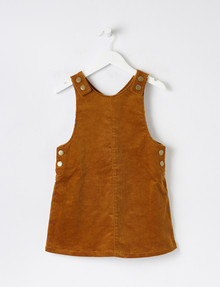 Mac & Ellie Cord Pinafore, Cinnamon product photo