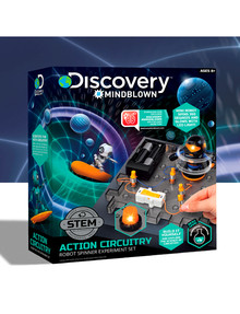 Discovery #Mindblown Toy Circuitry Action Experiment, Robot Spinner product photo
