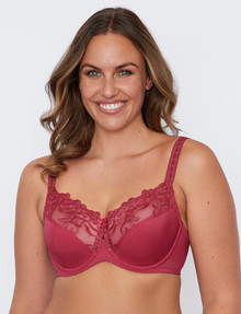 Fayreform Coral Underwire Bra, 2-Pack, Red Bud/Gardenia, C-G product photo