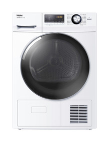 Haier 8kg Heat Pump Condensing Dryer, White, HDHP80A1 product photo
