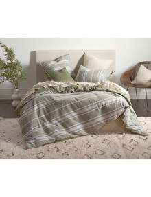 Domani Francesca Duvet Cover Set, Rosemary product photo