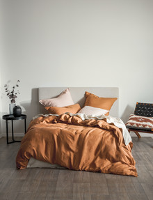 Domani Toscana Duvet Cover, Truffle product photo