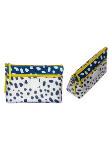 Tender Love + Carry Spotty Double-Zip Makeup Holdall product photo