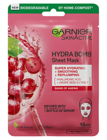 Garnier Hydra Bomb Eye Tissue Mask, Anti-Ageing, 28g product photo