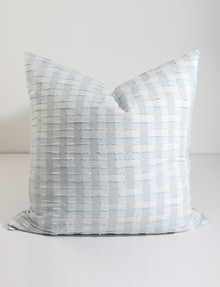 Domani Ilario European Pillowcase, Ocean Dew product photo