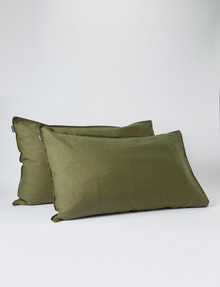 Domani Toscana Standard Pillowcase, Pair, Rosemary product photo
