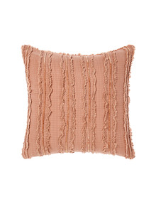Linen House Heather European Pillowcase, Brandy product photo
