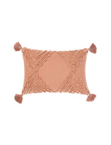 Linen House Heather Cushion, Brandy product photo