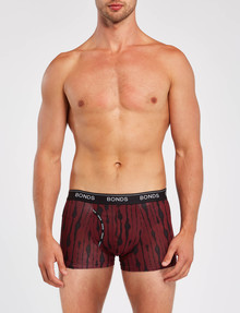Bonds Guyfront Print Trunk, Red product photo