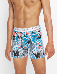 Bonds Midway Guy Print Trunk, Blue product photo