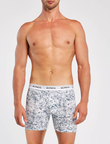 Bonds Mid-Length Guyfront Print Trunk, Grey product photo