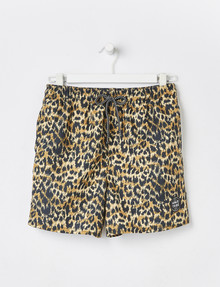 Wavetribe Animal Print Swim Short product photo