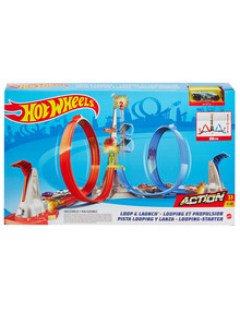 Hot Wheels Loop & Launch Track Set product photo