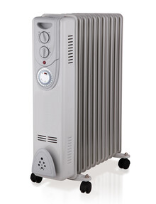 Sheffield 11 Fin Oil Heater with 24hr Timer, PLA1704 product photo