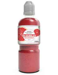 Oh Bubbles Pink Grapefruit Fruit Pulp Syrup, 500ml product photo