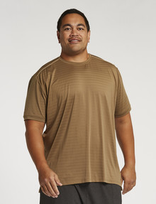 Gym Equipment King S Pace Slim-Fit Tee, Tan product photo