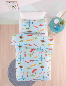 Linen House Kids Taking Flight Duvet Cover Set product photo