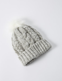 Switch Cable Beanie, Grey Marle product photo