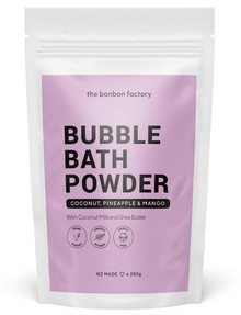The Bonbon Factory Bubble Bath Powder, 250g product photo