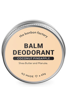 The Bonbon Factory Coconut & Pineapple Deodorant, 65g product photo