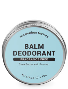 The Bonbon Factory Fragrance Free Deodorant 65g product photo