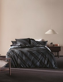 Linen House Phoenix Duvet Cover Set, Slate product photo