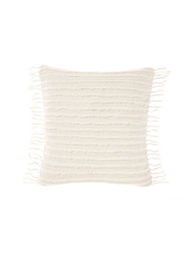 Linen House Dunaway European Pillowcase, Sugar product photo