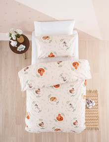 Linen House Kids Fox & Friends Duvet Cover Set product photo