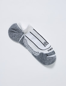NZ Athletic Performance-Tec Low Cut Sock, White product photo