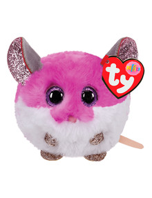 Ty Beanies Puffies Colby Mouse, Purple product photo