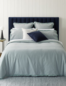 Kate Reed Alexia Waffle Duvet Cover Set, Duckegg product photo