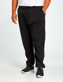 Gym Equipment King S Panel Trackpant, Black product photo