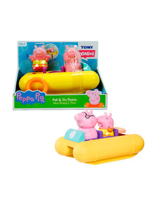Peppa Pig Pedalo Wind Up Floating Boat product photo