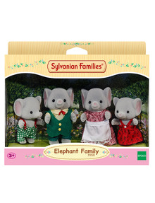 Sylvanian Families Elephant Family, 4-Pack product photo