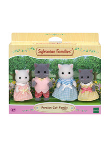 Sylvanian Families Persian Cat Family, 4-Pack product photo