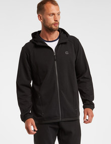 Gym Equipment Pace Zip-Through Hoodie, Black product photo