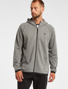 Gym Equipment Pace Zip-Through Hoodie, Sage product photo