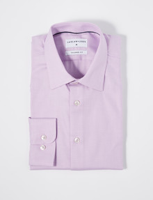 Laidlaw + Leeds Long-Sleeve Chevron Shirt, Pink product photo