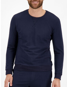 Jockey Life Loungewear Pullover, Navy product photo