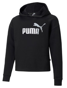 Puma Metallic Logo Hoodie, Black product photo