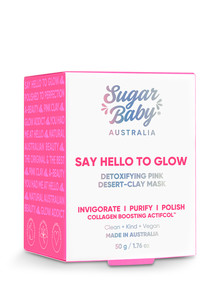 SugarBaby Say Hello To Glow Detoxifying Face Mask product photo
