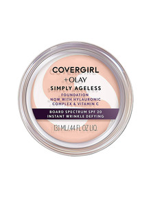 COVERGIRL + OLAY Simply Ageless Instant Wrinkle Defying Foundation product photo