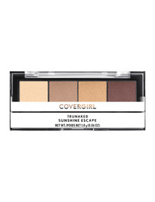 COVERGIRL TruNaked Quad Eyeshadow Palette, Sunshine Escape product photo