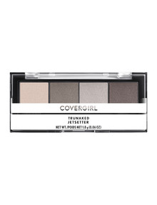 COVERGIRL TruNaked Quad Eyeshadow Palette, Jetsetter product photo