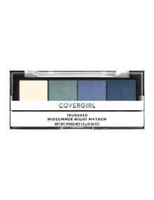 COVERGIRL TruNaked Quad Eyeshadow Palette - Midsummer Mayhem product photo