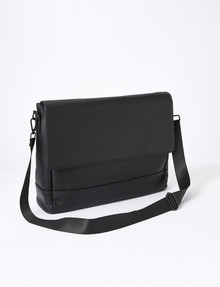 Laidlaw + Leeds Satchel Bag, Black product photo